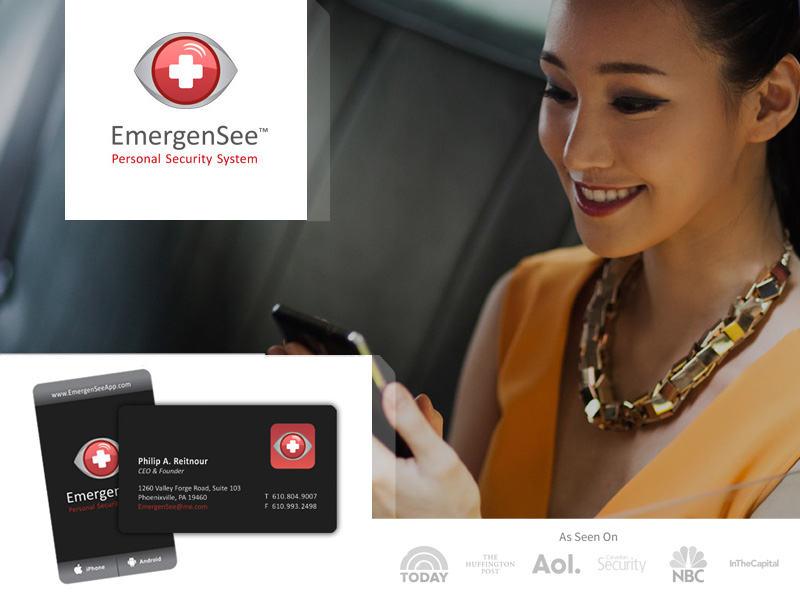 We built EmergenSee's brand from the ground up. This popular app has been recognized by some big names.